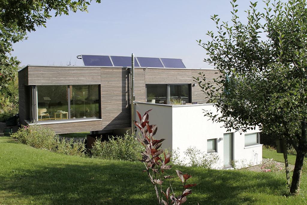 Haus weipelsdorf holzvogel kologisches bauen und wohnen for Haus bauen projekte