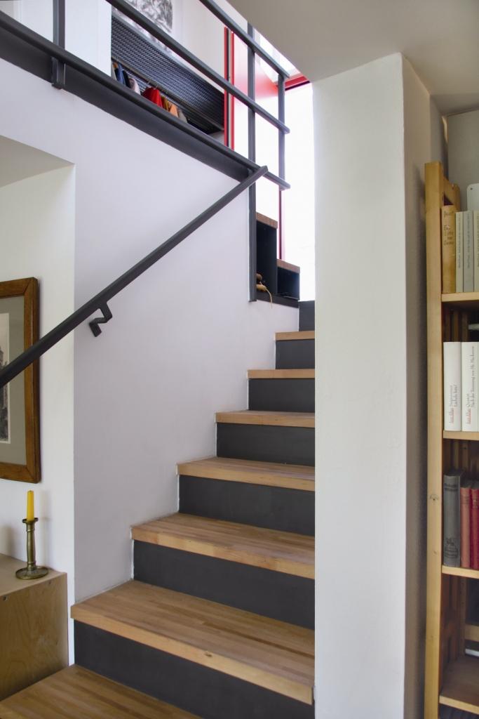 treppe holzvogel kologisches bauen und wohnen. Black Bedroom Furniture Sets. Home Design Ideas