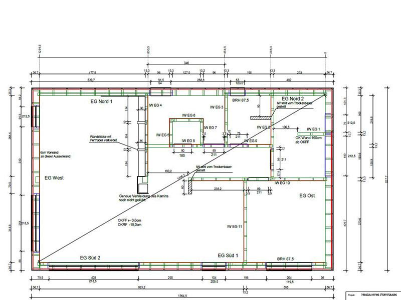 Werkplanung - HolzVogel - Ökologisches Bauen und Wohnen