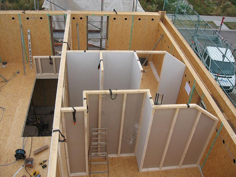 wandaufbau innenwand holzvogel kologisches bauen und. Black Bedroom Furniture Sets. Home Design Ideas